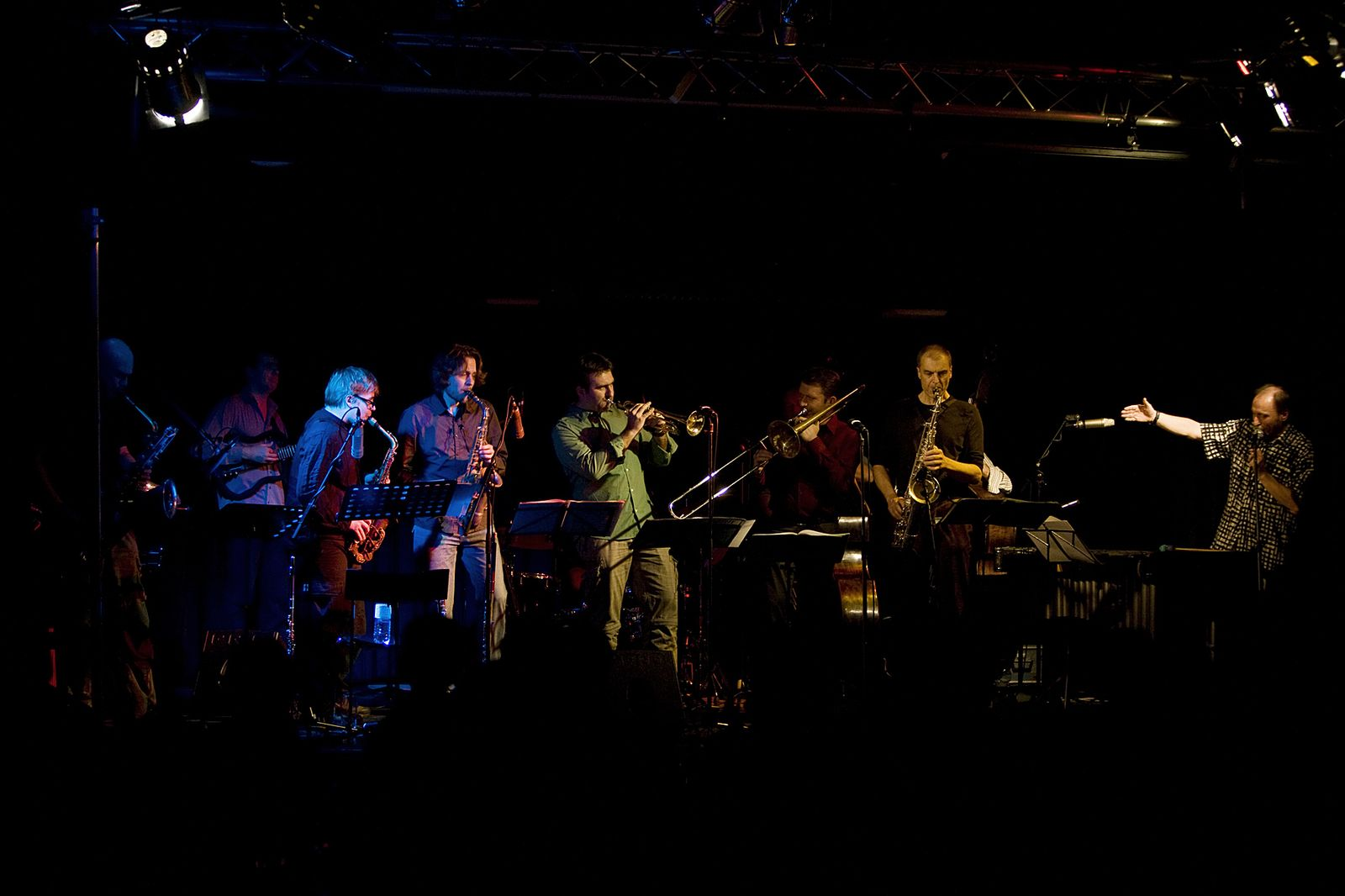 Jazztett Forum Graz mit Berndt Luef